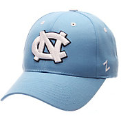 Zephyr Men's North Carolina Tar Heels Carolina Blue Competitor Adjustable Hat