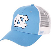 Zephyr Men's North Carolina Tar Heels Carolina Blue/White Big Rig Adjustable Hat