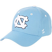 Zephyr Men's North Carolina Tar Heels Carolina Blue DH Fitted Hat