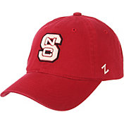 Zephyr Men's NC State Wolfpack Red Scholarship Adjustable Hat