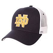 Zephyr Men's Notre Dame Fighting Irish Navy/White Big Rig Adjustable Hat