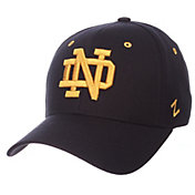 Zephyr Men's Notre Dame Fighting Irish Navy DH Fitted Hat