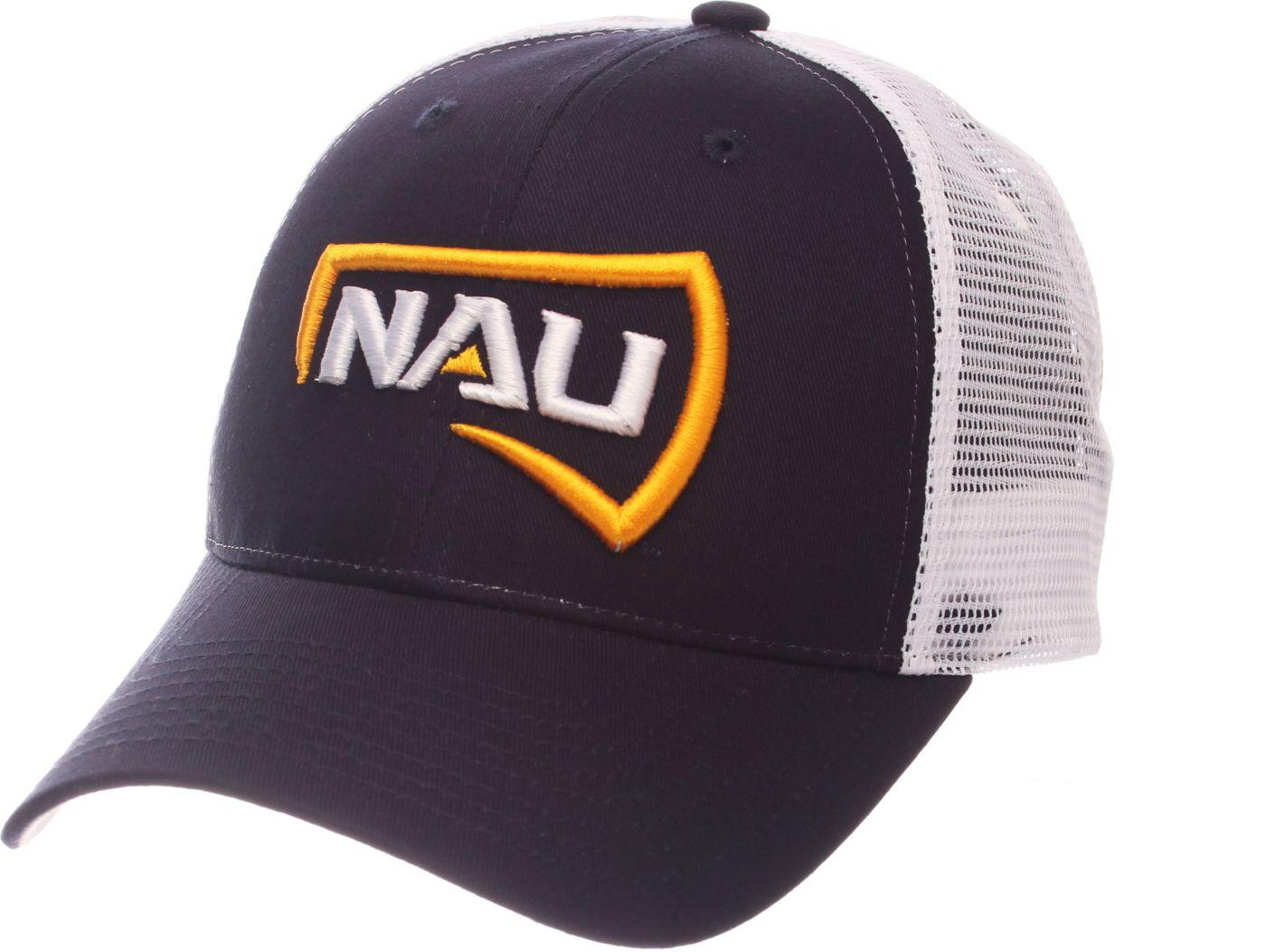 Zephyr Men's Northern Arizona Lumberjacks Blue/White Big Rig Adjustable Hat