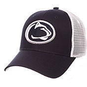 Zephyr Men's Penn State Nittany Lions Blue/White Big Rig Adjustable Hat