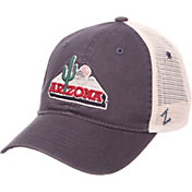 Zephyr Men's Arizona Wildcats Navy/Cream Trucker Logo Snapback Hat
