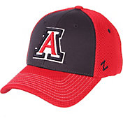 Zephyr Men's Arizona Wildcats Navy/Red Restitch Fitted Hat