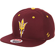 Zephyr Men's Arizona State Sun Devils Maroon Script Adjustable Snapback Hat
