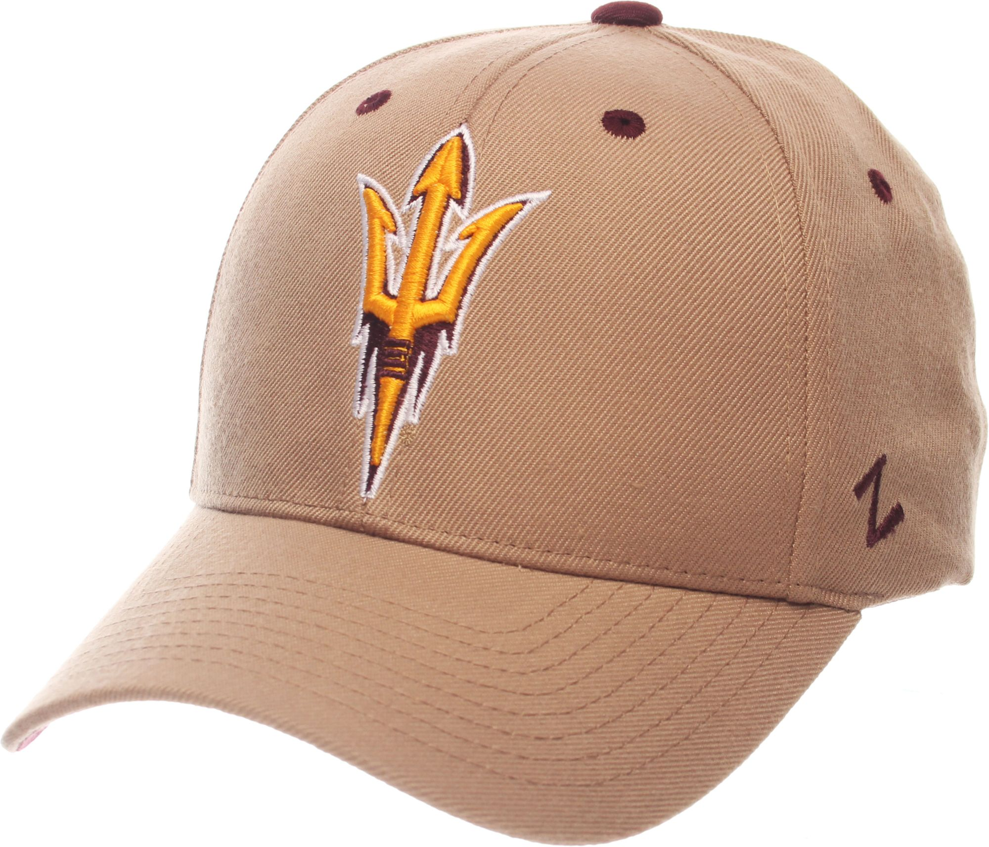 promo code 9581a a3aa2 ... italy zephyr mens arizona state sun devils tan competitor adjustable hat  e124b 72714