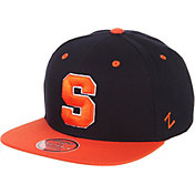 Zephyr Men's Syracuse Orange Blue/Orange Script Adjustable Snapback Hat