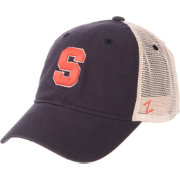 Zephyr Men's Syracuse Orange Blue/Cream Trucker Logo Snapback Hat
