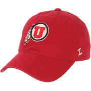 Zephyr Men's Utah Utes Crimson Scholarship Adjustable Hat