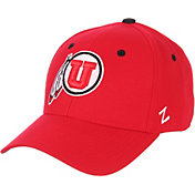 Zephyr Men's Utah Utes Crimson DH Fitted Hat