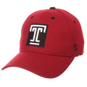 Zephyr Men's Temple Owls Cherry Competitor Adjustable Hat