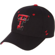 Zephyr Men's Texas Tech Red Raiders Black Competitor Adjustable Hat