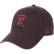 Zephyr Men's Texas Tech Red Raiders Grey Scholarship Adjustable Hat
