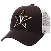 Zephyr Men's Vanderbilt Commodores Black/White Big Rig Adjustable Hat