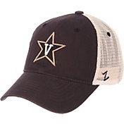 Zephyr Men's Vanderbilt Commodores Grey/Cream Trucker Logo Snapback Hat