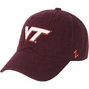 Zephyr Men's Virginia Tech Hokies Maroon Scholarship Adjustable Hat