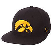 Zephyr Men's Iowa Hawkeyes  M15 Black Fitted Hat