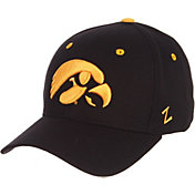 Zephyr Men's Iowa Hawkeyes DH Fitted Black Hat