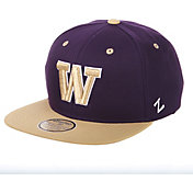 Zephyr Men's Washington Huskies Purple/Gold Adjustable Snapback Hat