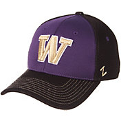 Zephyr Men's Washington Huskies Purple/Black Restitch Fitted Hat