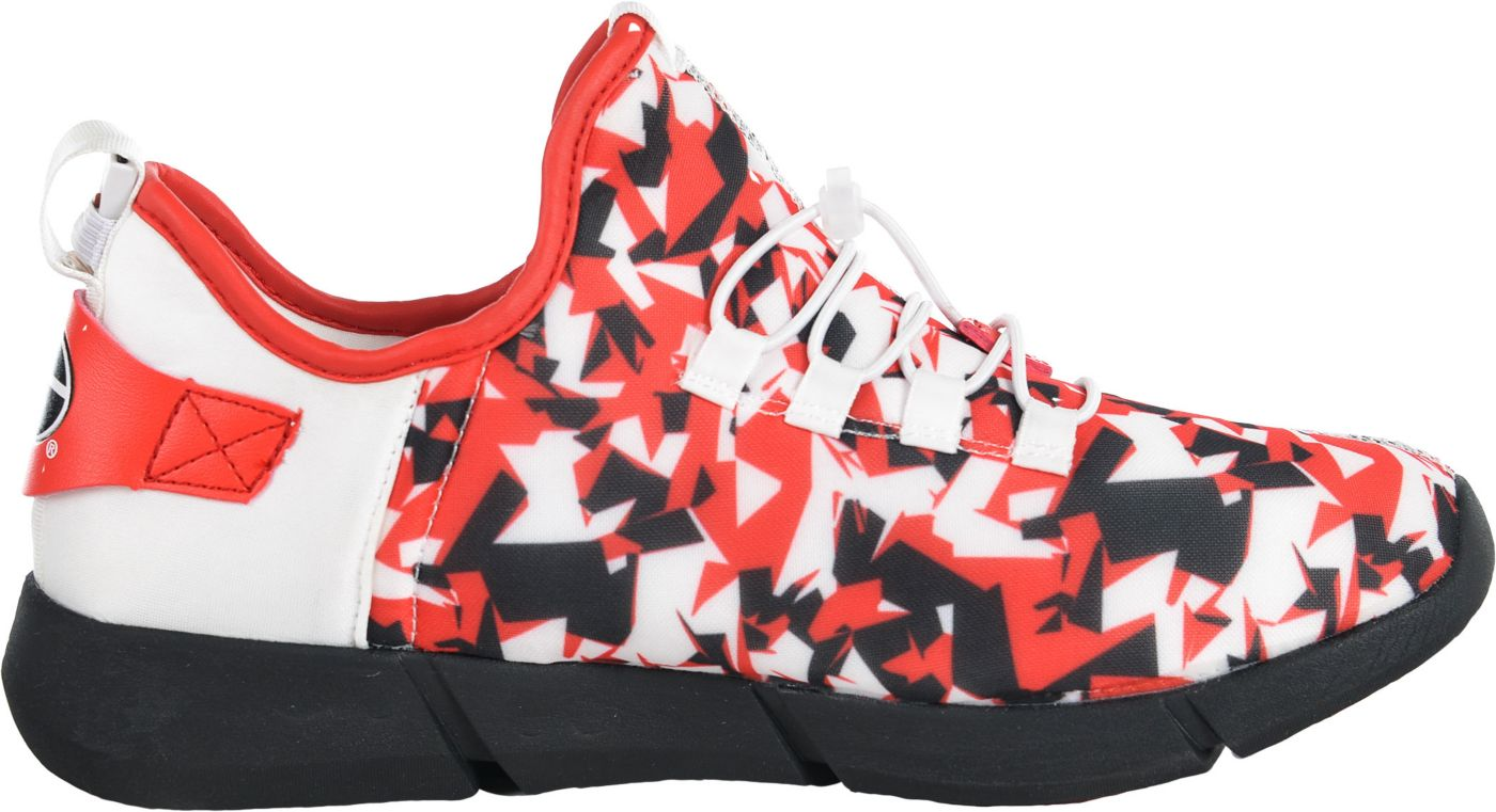 Eimoh Youth Georgia Bulldogs Red Lumn8 Flashpoint Sneaker