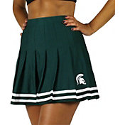 ZooZatz Women's Michigan State Spartans Green Rah Rah Cheer Skirt