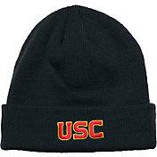 New Era Men's USC Trojans Cardinal Fullerton Cuffed Knit Beanie