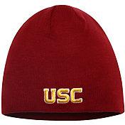 New Era Men's USC Trojans Cardinal Fowler Uncuffed Knit Beanie