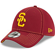 New Era Men's USC Trojans Cardinals Sideline Road 39Thirty Stretch Fit Hat