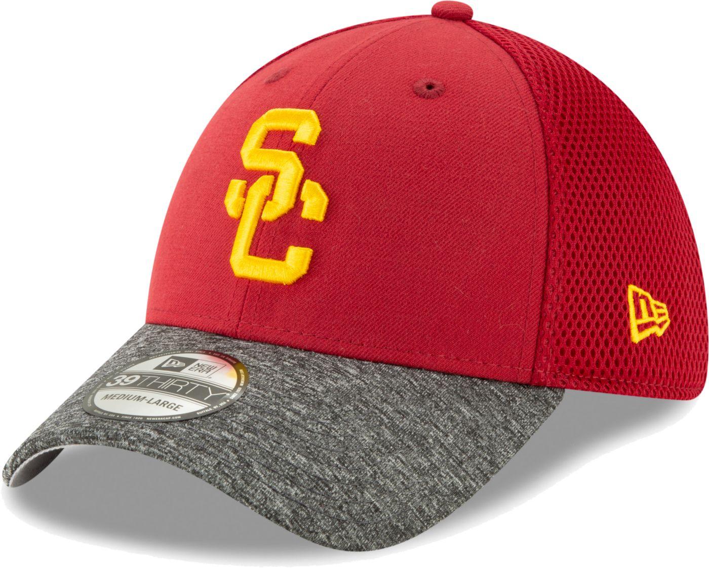 New Era Men's USC Trojans Cardinal Structured Adjustable Hat
