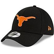 New Era Men's Texas Longhorns Molded Flexfit Black Hat
