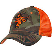 University of Texas Authentic Apparel Men's Texas Longhorns Camo/Burnt Orange Adjustable Trucker Hat