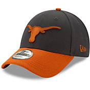 New Era Men's Texas Longhorns Grey The League 9FORTY Adjustable Hat