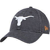 New Era Men's Texas Longhorns Grey Classic Twill Adjustable Hat