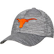 University of Texas Authentic Apparel Men's Texas Longhorns Grey Canopus Stretch Fit Hat