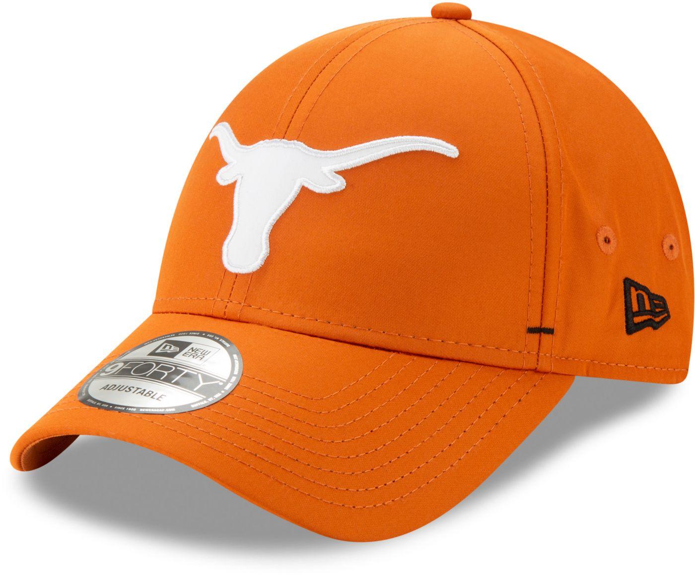 New Era Men's Texas Longhorns Burnt Orange 9FORTY Dash Adjustable Hat