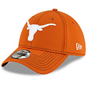 New Era Men's Texas Longhorns Burnt Orange Road 3930 Flexfit Hat