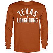 University of Texas Authentic Apparel Men's Texas Longhorns Burnt Orange Rolfe Long Sleeve T-Shirt