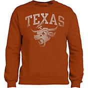 University of Texas Authentic Apparel Men's Texas Longhorns Burnt Orange Sable Crew Neck Sweatshirt