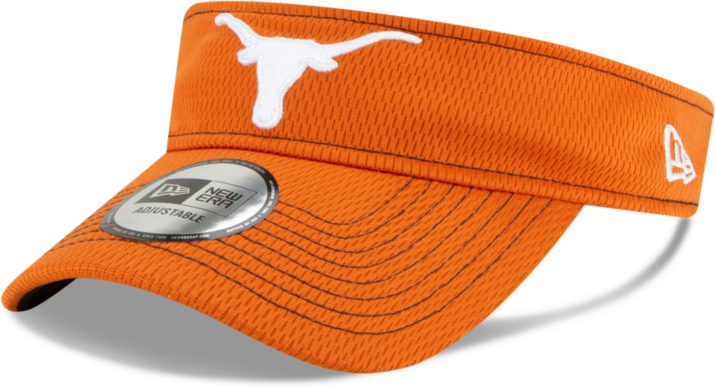 New Era Men's Texas Longhorns Burnt Orange Sideline Road Visor