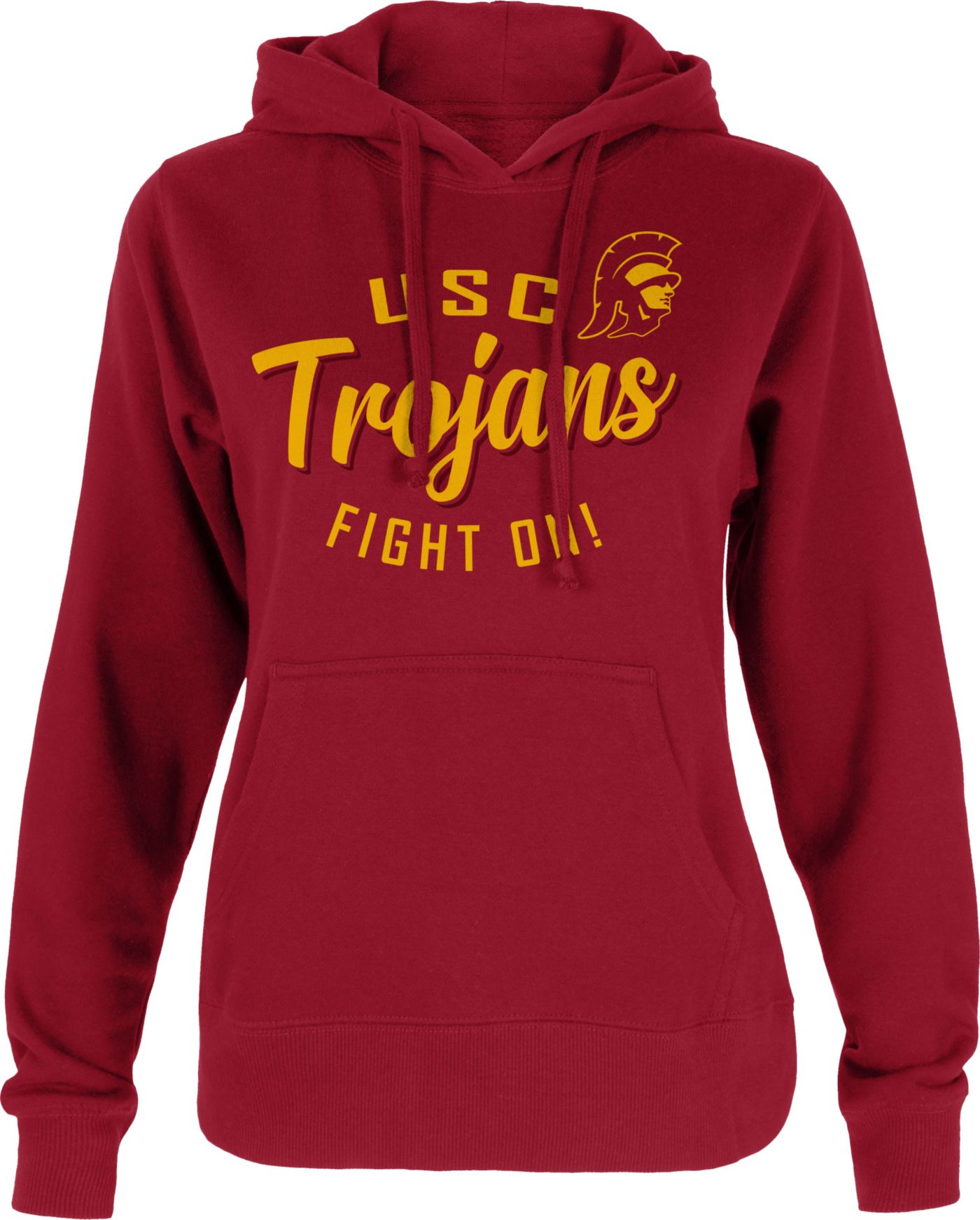 USC Authentic Apparel Women's USC Trojans Cardinal Hoodie