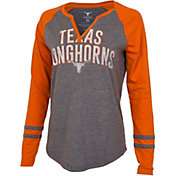 University of Texas Authentic Apparel Women's Texas Longhorns Grey Diane Long Sleeve T-Shirt