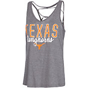 University of Texas Authentic Apparel Women's Texas Longhorns Grey Hendrix Tank Top