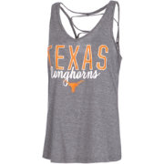 University of Texas Authentic Apparel Women's Texas Longhorns Grey Hendrix Tank Top