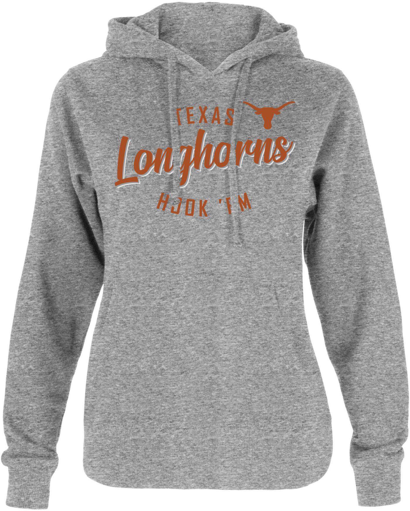 University of Texas Authentic Apparel Women's Texas Longhorns Grey Hoodie