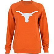 University of Texas Authentic Apparel Women's Texas Longhorns Burnt Orange Silhouette Crew Neck Sweatshirt