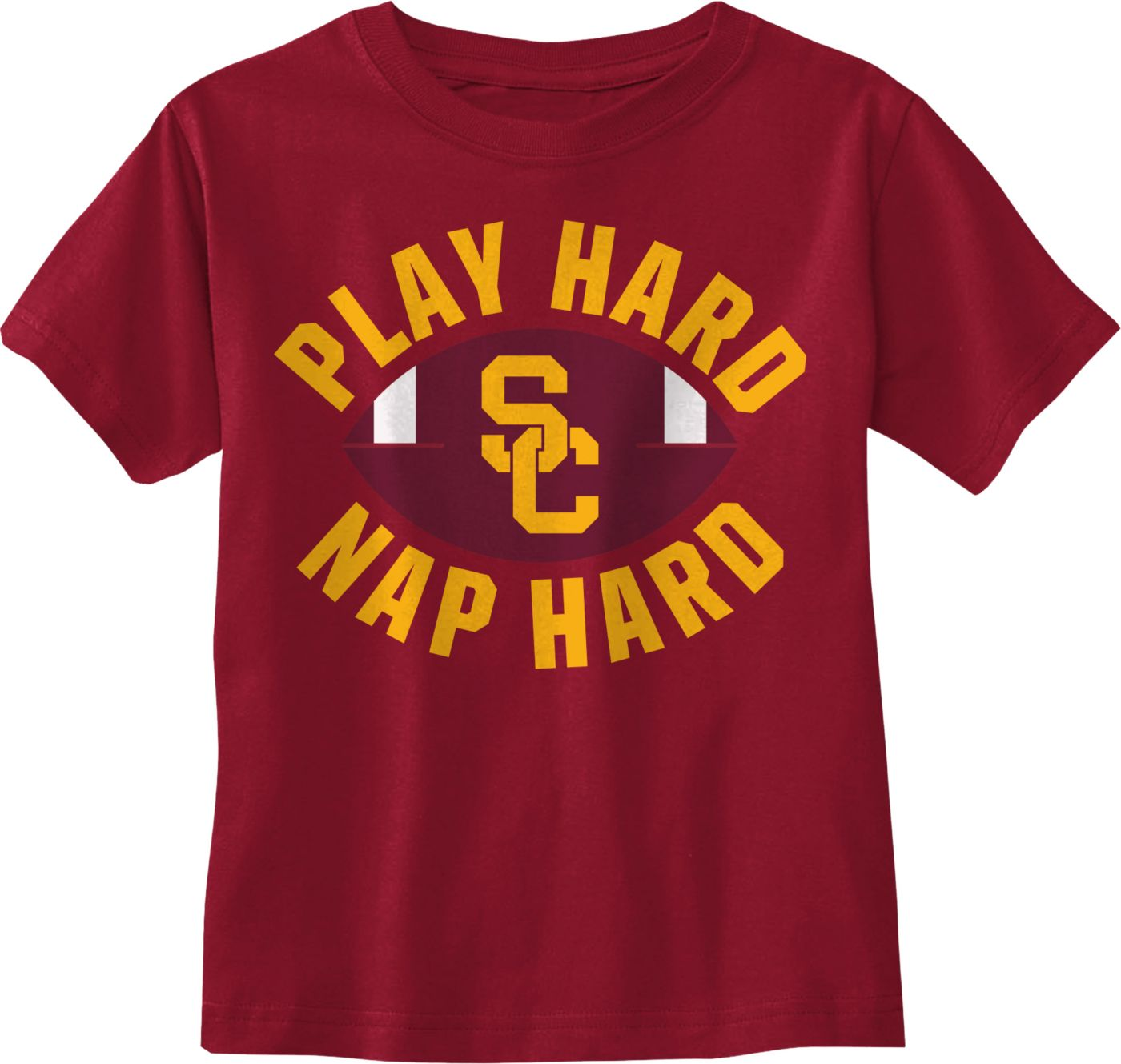 USC Authentic Apparel Youth USC Trojans Cardinal Christian T-Shirt