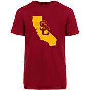 USC Authentic Apparel Youth USC Trojans Cardinal State T-Shirt